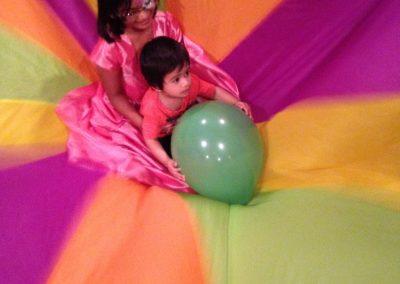 Party parachute activity